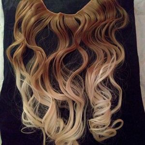 HALO OMBRE WAVE HAIR EXTENSIONS , BRAND NEW